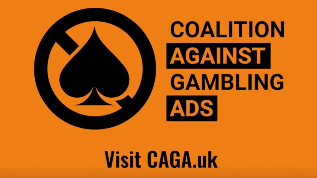 CAGA Coalition Against Gambling Ads logo web